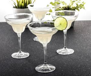 Coffret 6 Verres Margarita en cristal collection venise