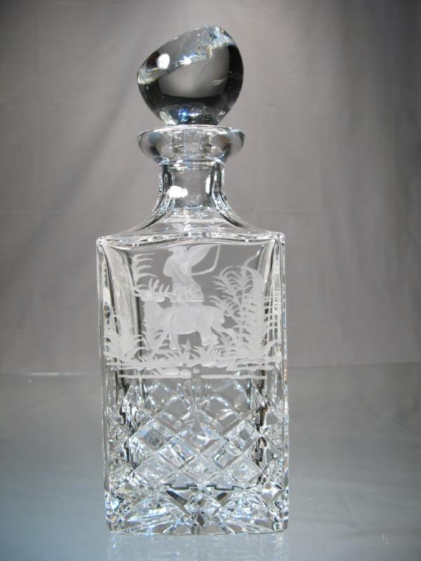 carafe whisky cristal carre carafe taille chasseur cristal carafe whisky cristal chasse. Black Bedroom Furniture Sets. Home Design Ideas