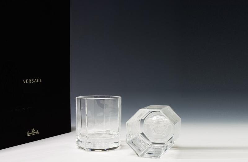 versace cristal versace verres whisky versace. Black Bedroom Furniture Sets. Home Design Ideas