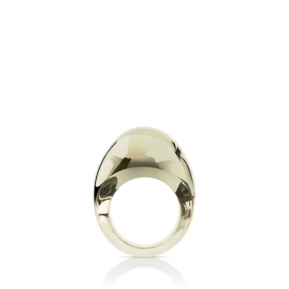 Bague Cristal Lalique Gourmande bronze