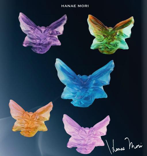 Daum hanae mori art daum papillon art papillon daum - Modele papillon ...