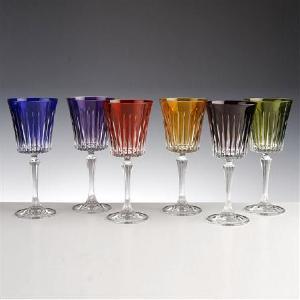 verre couleur taille moderne verres vin du rhin verres ro mer couleur taille moderne. Black Bedroom Furniture Sets. Home Design Ideas
