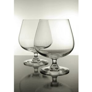 Coffret 6 Verres à cognac en cristal collection Vivat