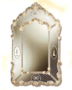 miroirs miroirs venetien miroir murano miroir de venise. Black Bedroom Furniture Sets. Home Design Ideas