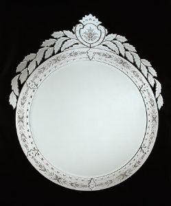 Miroirs miroirs venetien miroir murano miroir de venise for Miroir venitien rectangulaire