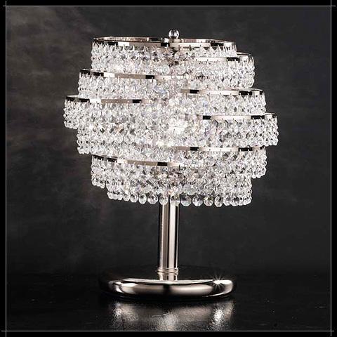 Lustre Moderne Cristal Voltolina Cristal Art Deco