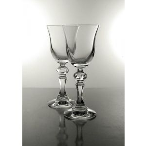 Coffret 6 Verres à vin blanc en cristal collection Prestige
