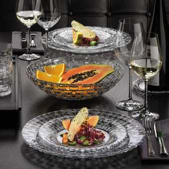 Service de table cristal cristal art deco service de - Service de la table ...