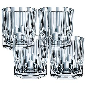 Verres à whisky en cristal collection Aspen ( coffret de 4 )