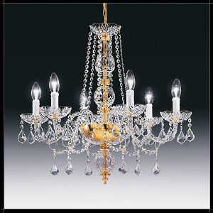 Lustre Chandelier Cristal Murano Voltolina Collection Siviglia