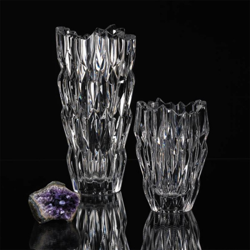 Vase en cristal +24% plomb collection Quartz