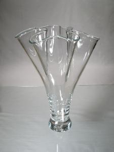 Vase Transparent Eventail