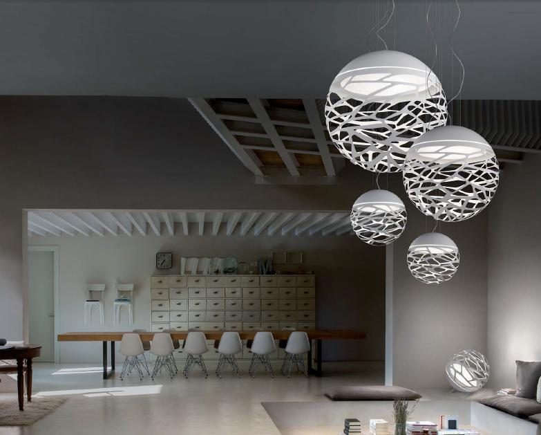 Luminaire Suspension Italia Modele Sphere Studio Kelly f6g7Yby