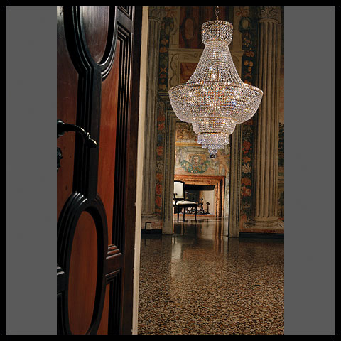 Lustre Pendant Cristal Murano Voltolina Collection Beethoven