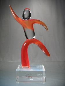 Murano Art Collection : Danseur Aerobic