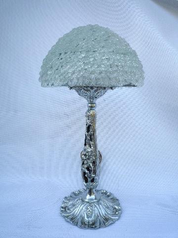 lampe en verre blanc lampe de salon lampe d 39 ambiance en verre. Black Bedroom Furniture Sets. Home Design Ideas