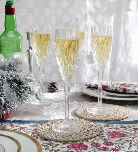 Flutes Champagne en cristal collection Imperial ( lot de 4 )