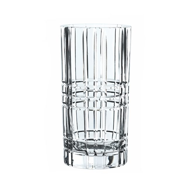 Vase en cristal +24% plomb collection Square 23 cm
