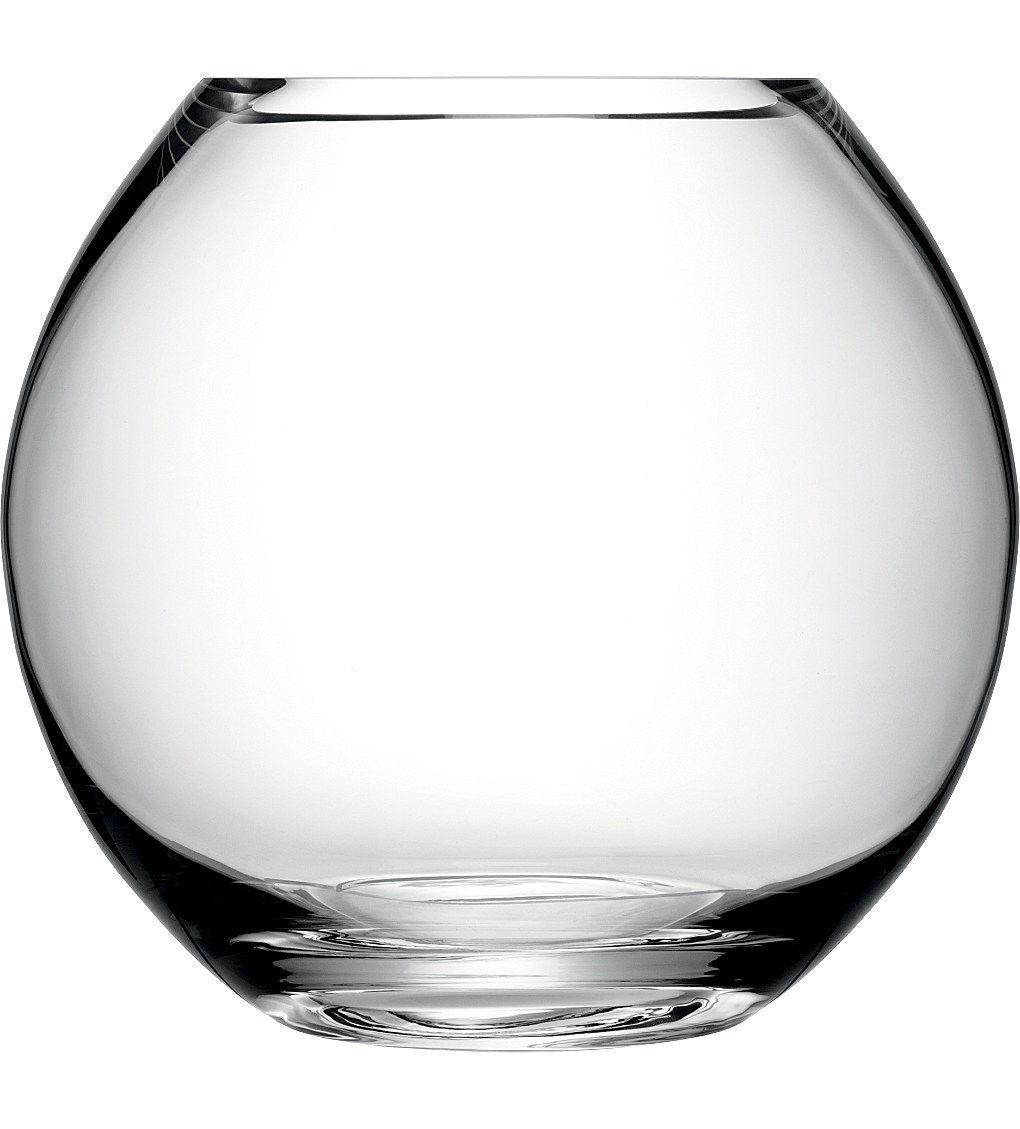 Vase cristal boule vase en cristal bouquet rond vase boule ronde - Vase rond en verre ...